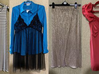 Финальная распродажа! Новая одежда и б/у, S, М, L -  На фото 1 - 4 - всё по 350л.  На фото 5 - 6 - в