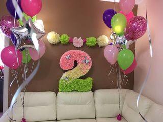 Cifre, baloane, happy birthday
