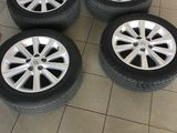 4 anvelope. Bridgestone turanza. 215/55/17