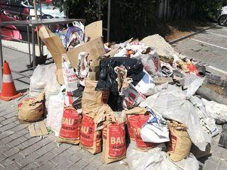 Вывоз мусора по перечислению и наличными / transfer si cash