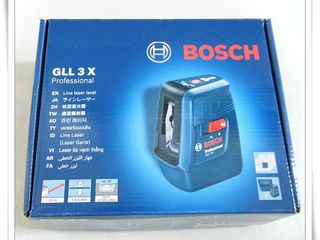 Лазерныи нивелир Bosch gll-3x + тренога = 155 евро