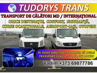 Transport pasageri MD si international