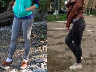Модные - спортивные женские Леггинсы 2016. Весна - осень. Высокая талия.  Для тренировок,фитнеса.