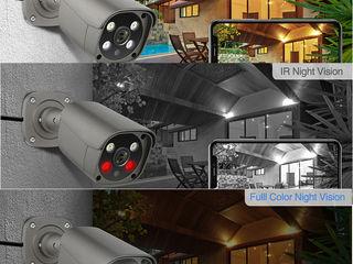 Cel mai mic pret!!!Set camere supraveghere 4  x 5 megapixels + recorder