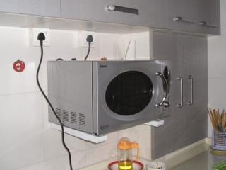 Кронштейн для навески микроволновых печей на стену. Настенное крепление.
