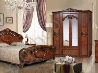 Dormitor KMK Rozalia (Nuc eco), livrare gratuită în toată Moldova!