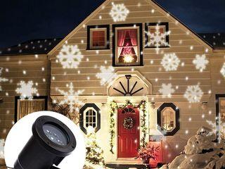 LED Garden Projector - 12 картриджей на все праздники!