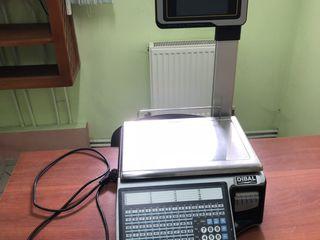 sistem complet, cintar, aparat de casa, scaner, monitor, calculator, sertar de bani, RTI, soft RTI