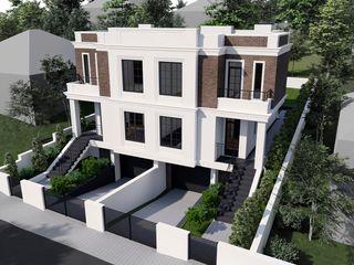 Duplex în 3 nivele, str-la. balcani, Buiucani