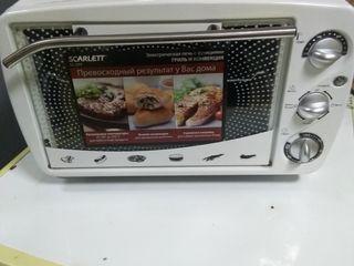 """Электрическая печь """" Scarlet """" отличное состояние недорого."""