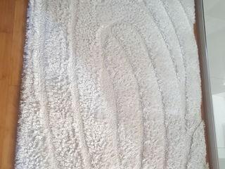 Ковёр белый