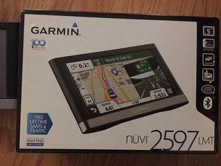 Навигатор Garmin Nuvi 2597LMT, все карты установлены - Новый 220€!