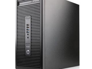 HP ProDesk 600 G2 MT (i5-6500/ 8GB/ SSD128GB) din Germania. Licență Win 8/10 Pro. Garanție 2ani