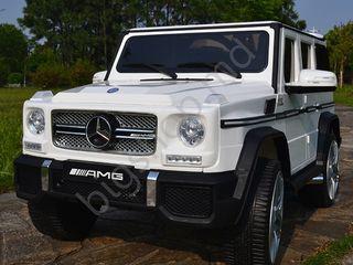 Masina electrica pentru copii RT SMBG65 White Livrearea gratis!!!