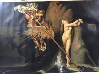Красивая картина(tablou) итальянских мастеров классика 92 х 60 см холст масло. Копия оригинала