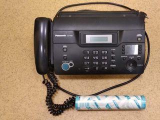 Факс/телефон работает отлично !!! Новый рулон бумаги в подарок !