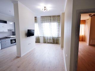 Apartament cu 2 camere în sectorul telecentru (reparat) + tehnică inclusă în preț