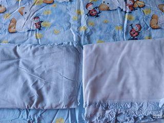 Комплект постельного белья bertoni с бортиками и балдахином .