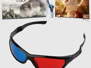Пластиковые 3d очки!