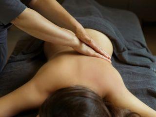 Расслабляющий или тонизирующий общий массаж.