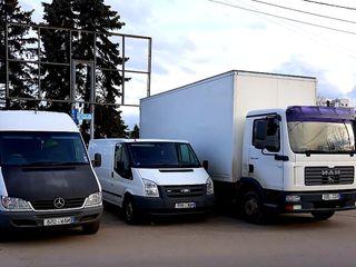 Грузоперевозки/Transport de marfuri!!!24/24(pînă la 8tone)