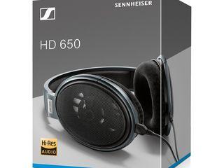Наушники Sennheiser HD 650 .  Наушники новые неиспользованные - потому что для них нужно мощный  уси