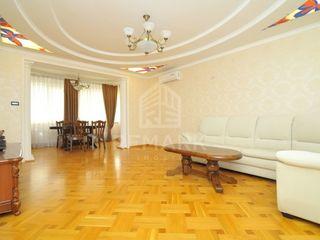Spre chirie apartament cu 3 odăi, Centru  str. D. Cantemir, 450 €