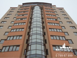 Apartament cu 1 camera in bloc rezidential in varianta alba cu incalzire autonoma