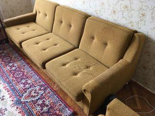 недорого 1100лей диван и 2кресла накидки в подарок