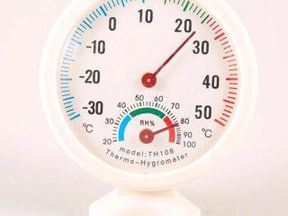 Higrometru. Гигрометр, термометр. Новый, точный и качественный прибор. Гарантия.