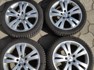 Jante R17 + 225/45/17 Mercedes - 250 euro