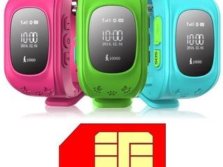 Детские умные часы с отслеживанием GPS – 430 лей!
