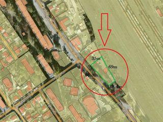 Urgent! Botanica, str. Muncești, teren p/u construcții 8ari/10ari/14ari, prima linie!