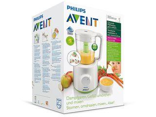 Aparat de gătit cu aburi şi blender Philips Avent