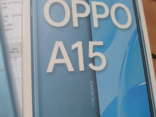 Новый oPPo A15 duos 2300 lei