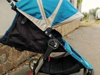 Коляска Baby Jogger City Mini, трехколесная.