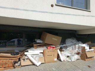 Evacuarea gunoiului de toate feluri, hamali