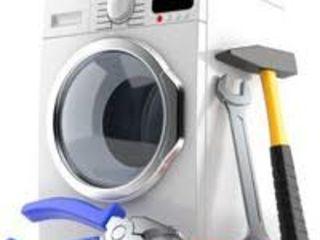 Reparația mașinilor de spălat automate la domiciliu. Piese de schimb. Chișinău