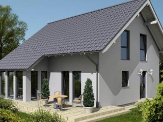 Строительство СИП домов в Молдове. Дом с мансардой в строгом скандинавском стиле.