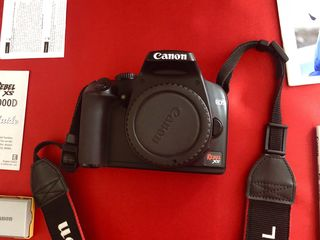 Canon Rebel Xs Ds126191  + 2 obiective   Made In Japan