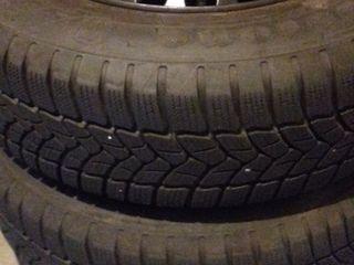 Комплект колес R15 195 65  4.шт + железные диски Renault на 4 болтa