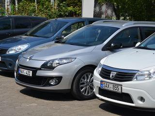 Chirie de la 10 eur прокат авто от 10 евро, bmw, botanica, Dacia, Megan,