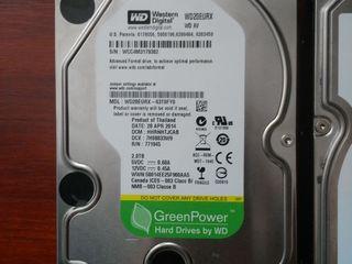Продам три HDD 3.5 на 2.0TB 1.0TB и 400GB