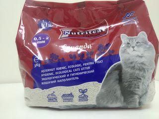 Nutritfort vă propune așternut igienic de calitate Premium pentru pisici în granule