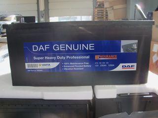 Аккумулятор  240 Ah DAF Super Heavy Duty Professional. Оригинал. 2020 год. Отдам недорого. Гарантия