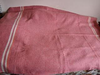 Одеяло байковое полуторное 2,15 x 1,45 м