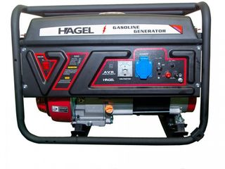 Генератор бензиновый 3.2квт 220в dtf5000+ATS hagel,livrare gratuita,garantie!!credit!!