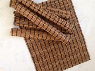Accesorii originale, noi din bambus pentru bucătărie, Italia, 6 bucăți -220 lei;   Accesoriu nou, mu