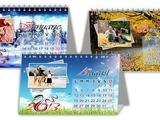 Calendare de perete, calendare - căsuţe de masă, calendare de buzunar!
