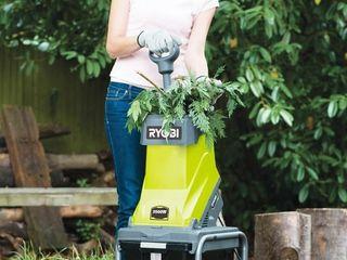Измельчители садовые электрические для переработки садового мусора
